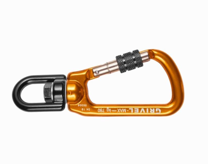 Karabína Grivel Rotor screw lock