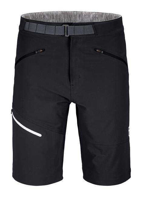 Krátke nohavice Ortovox Brenta Shorts - Black Raven - M