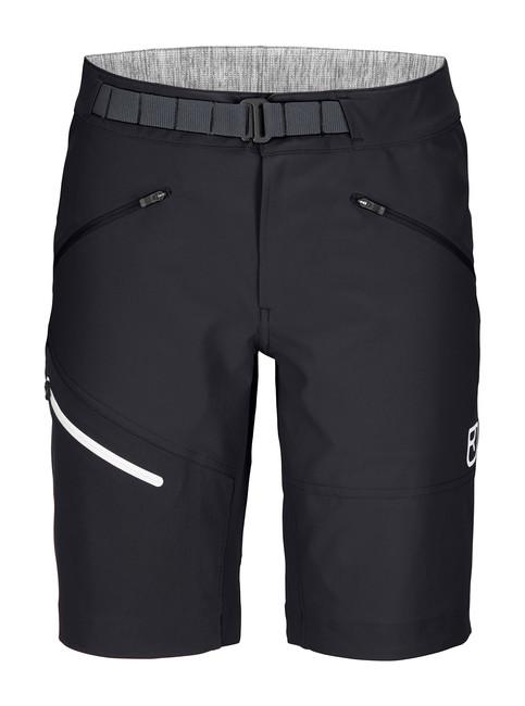 Krátke nohavice Ortovox W's Brenta Shorts - Black Raven - S