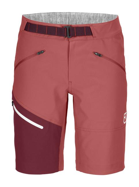 Krátke nohavice Ortovox W's Brenta Shorts - Blush - M