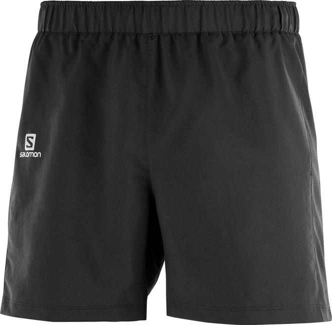 Krátke nohavice Salomon Agile 5'' short M - black - XL