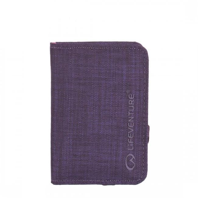 Lifeventure RFiD Card Wallet - Purple  0e14b06df94