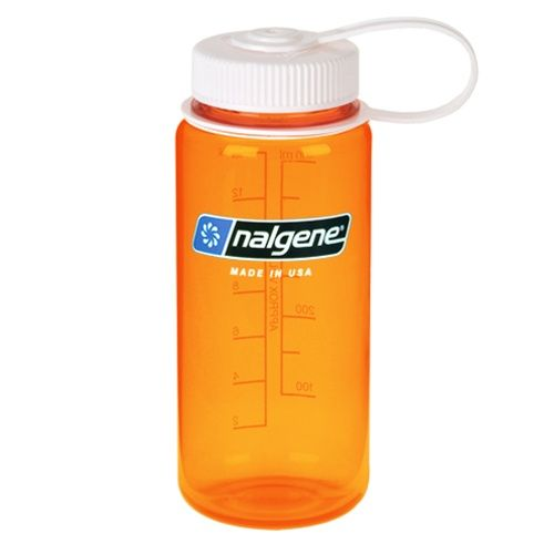 Nalgene Wide Mouth 0,5 - Orange Tritan
