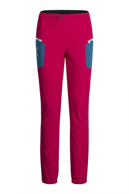 Nohavice Montura Ski Style Pants W pink/teal blue - XS