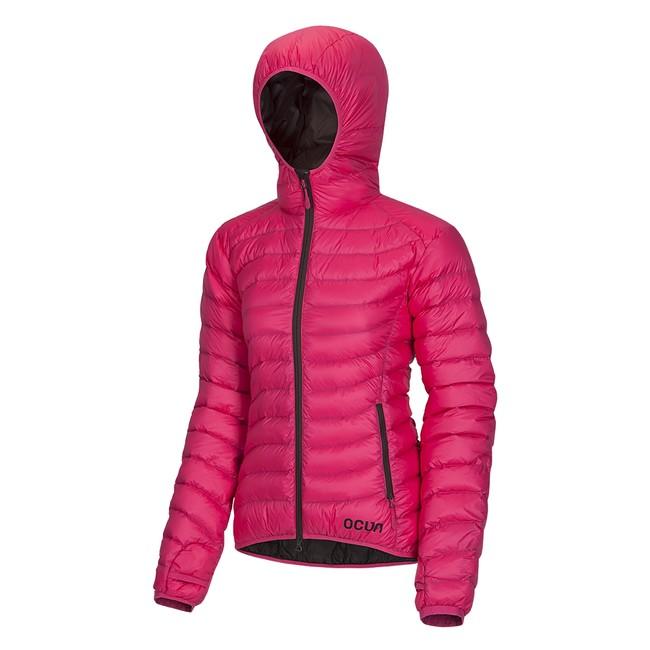 Ocún Tsunami Down Jacket Women - Pink Brown  cabeb65517c