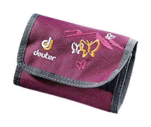 Peňaženka Deuter Wallet - Blackberry butterfly
