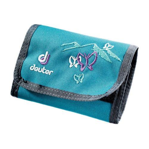 Peňaženka Deuter Wallet - Petrol Butterfly