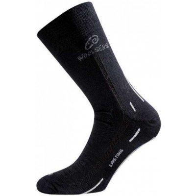 Ponožky Lasting Treking Merinowool WHI 900 - S