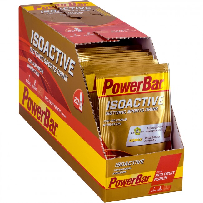PowerBar IsoActive - BOX 20x30g