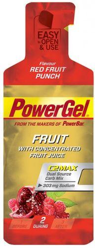 PowerGel Bomba - červené ovocie