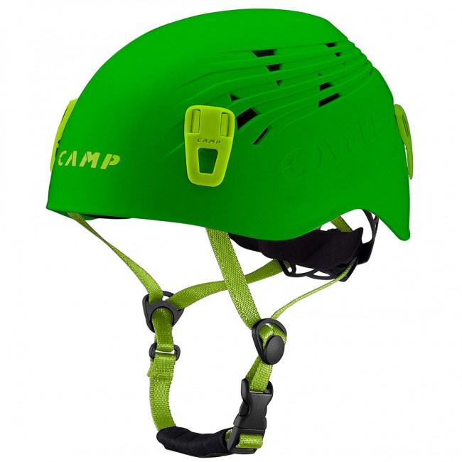 Horolezecká prilba Camp Titan - zelená  17ac7aab1c4