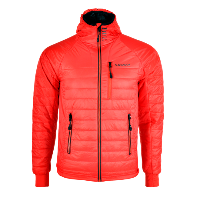 Primaloft bunda Silvini Rutor MJ1142 - red/black