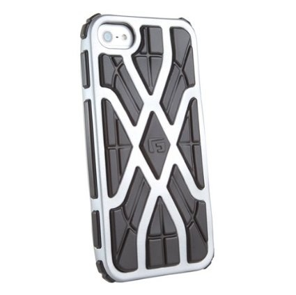 púzdro G-Form iPhone 5 & 5S-silver/black