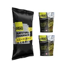 Adventure Menu Survival Food Pack - menu III
