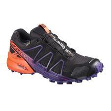 Bežecká obuv Salomon Speedcross 4 GTX LTD W - bk/nasturium