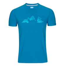 Zajo Bormio T-shirt - blue jewel nature