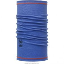 Buff 3/4 Merino Wool Solid Blue Ink - Blue Ink