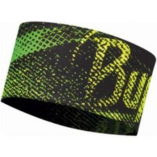 Čelenka Buff Headband - flash logo yellow fluor
