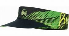 Čelenka Buff Pack Run Visor Patterned - r flash logo yellow fluor