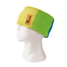 Čelenka Skitrab Lines Headband - yellow/green/blue