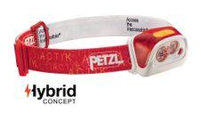Čelovka Petzl Actik Core - červená