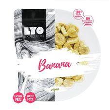 Dehydrované ovocie Lyofood Banán