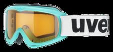 Detské lyžiarske okuliare Uvex Snowcat turguoise