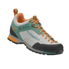 Turistická obuv Garmont Dragontail N.AIR.G wms GTX - light grey/teal green