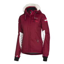 Husky Dámska lyžiarska bunda Bromy vínová