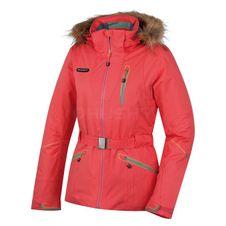 Husky Dámska lyžiarska bunda Walera ružová