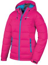 Husky Dámska perová bunda Heral L -20°C tm. růžová