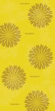 Husky multifunkčná šatka Daphne žltá