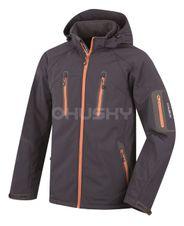 Softshellová bunda Husky Bristel New - antracit/oranžová