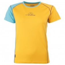 La Sportiva MR Event Tee Woman - blue/yellow