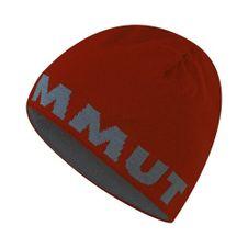 Mammut Logo Beanie - maroon/chill