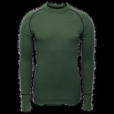 Termoprádlo Merino BRYNJE Arctic Double Shirt so sieťovinou - zelené