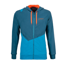 Mikina La Sportiva Rocklands Hoody - lake/tropic blue