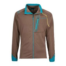 Mikina La Sportiva Shamal Jacket - falcon brown/tropic blue