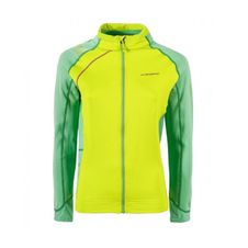 Mikina La Sportiva Sharki Jacket Women - apple green/jade green