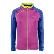 Mikina La Sportiva Sharki Jacket Women - purple/cobalt blue