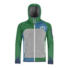 Mikina Ortovox Fleece Plus Hoody - irish green