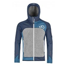 Mikina Ortovox Fleece Plus Hoody - night blue