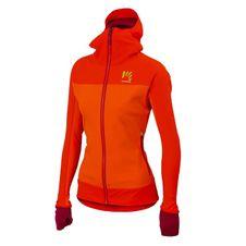 Nepremokavá bunda Karpos Mountain - červená/oranžová