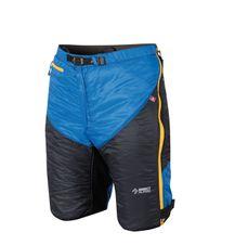 Nohavice Directalpine Logan modrá/čierna