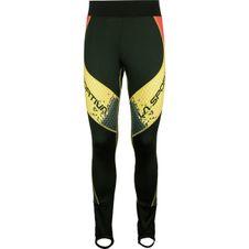 Nohavice La Sportiva Syborg Racing Pant - black/yellow