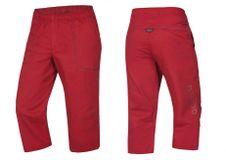 Ocún Jaws pants 3/4 - Garnet red