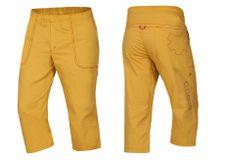Ocún Jaws pants 3/4 - Golden yellow
