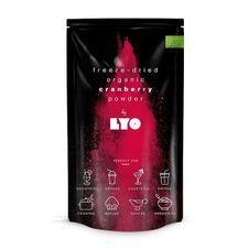 Organický prášok Lyofood Brusnice v prášku