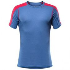 Devold Sport Man T-Shirt - twilight/red