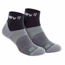 Ponožky Inov-8 All Terrain Sock Mid - black/grey